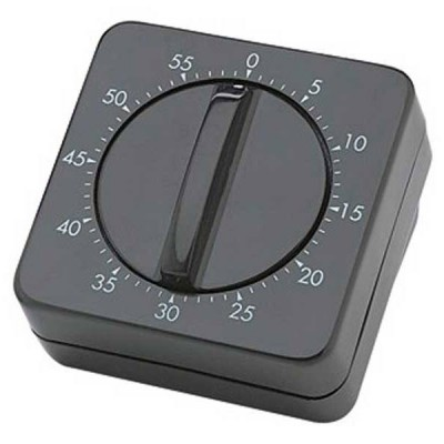 Таймер механический черный Sibel 0090054-02 , код: 472