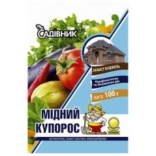 Медный Купорос 100гр, Фунгицид Garden Club