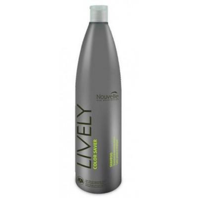Шампунь для защиты цвета Nouvelle Lively Color Saver Shampoo 1206 , код: 1186