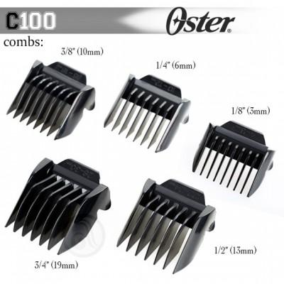 Oster 076105-550-051 набор насадок к машинке С100, код: 1328