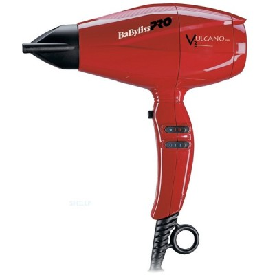 Фен для волос BaByliss BAB6180IRE Vulcano, 2200W, код: 7135