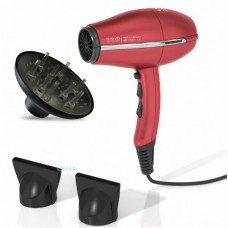 Фен для волос Ga.Ma SH3806 G-EVO Ultra Light 3800 Red Titanium Halogen Ion, 2000 вт