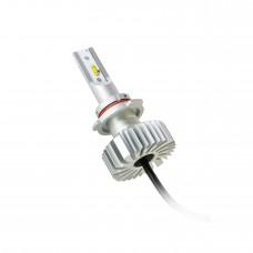 Комплект MLux True LED 9006, 20 Вт, 6000 К (к-т 2 шт.) + Светодиоды MLux W5W