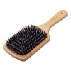 Щетка для волос «Bamboo-Line» 10-рядная (со смешанной щетиной)