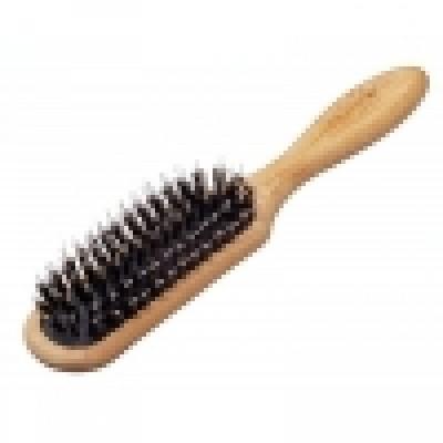 Щетка для волос «Bamboo-Line» 6-рядная (со смешанной щетиной), код: 146