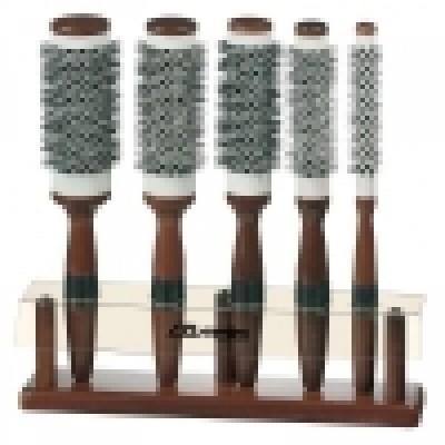 Набор из 5 брашингов для сушки феном «Ceramic de Luxe», код: 202