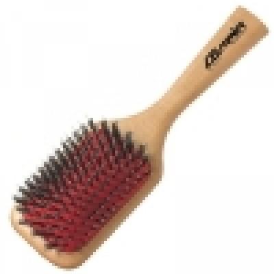 Щётка «Natural Wooden Brush» 9-рядная (со смешанной щетиной), код: 260