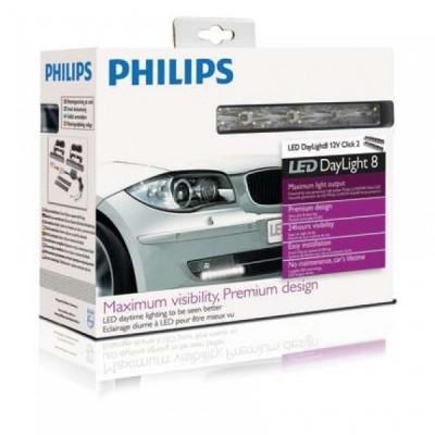 Светодиодные фары PHILIPS DRL8 12824, код: 934