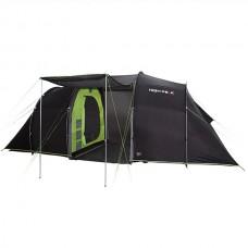 Палатка кемпинговая High Peak Tauris 4 (Dark Grey/Green)