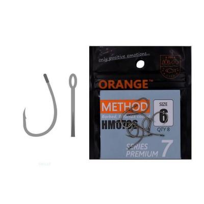 Гачки ORANGE method Premium Series 7, колір teflon, # 10, код: 7592