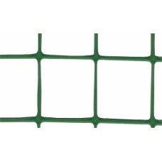 Сетка пластиковая Клевер птичка яч. 12х14 мм, рул. 1х50 м (зеленая)