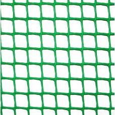 Сетка пластиковая Клевер забор яч. 10х10 мм, рул. 1х20 м (зеленая)