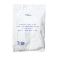 Перчатки одноразовые Sibel 0931001, М 50шт.