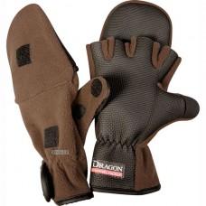 Флисовые перчатки-варежки Dragon TCH-RE-04-002