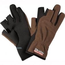 Флисовые перчатки Dragon TCH-RE-05-002, 3 пальца