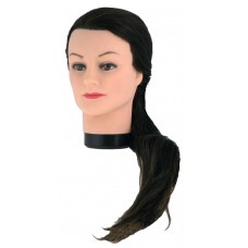 Голова учебная Sibel 01142 шатен 60см + штатив