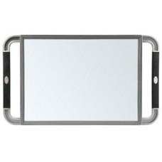 Зеркало косметическое с ручками Sibel 0130991-32 (grey 23x40 см.)